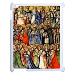 All Saints Christian Holy Faith Apple Ipad 2 Case (white) by Celenk
