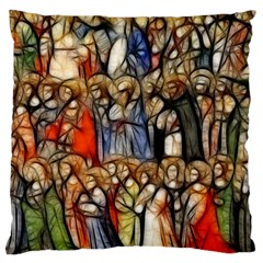 All Saints Christian Holy Faith Large Cushion Case (two Sides) by Celenk