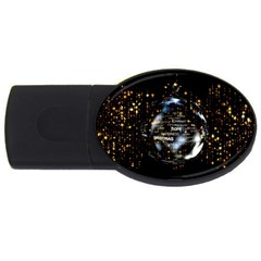 Christmas Star Ball Usb Flash Drive Oval (2 Gb)