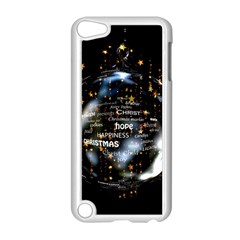 Christmas Star Ball Apple Ipod Touch 5 Case (white) by Celenk