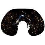 Christmas Star Ball Travel Neck Pillows Front