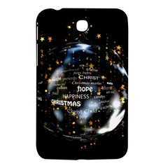 Christmas Star Ball Samsung Galaxy Tab 3 (7 ) P3200 Hardshell Case  by Celenk