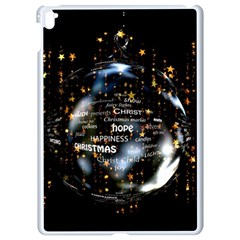 Christmas Star Ball Apple Ipad Pro 9 7   White Seamless Case