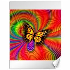 Arrangement Butterfly Aesthetics Canvas 36  X 48   by Celenk