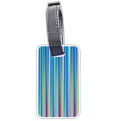 Colorful Color Arrangement Luggage Tags (one Side)  by Celenk