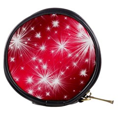 Christmas Star Advent Background Mini Makeup Bags