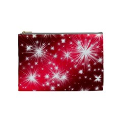 Christmas Star Advent Background Cosmetic Bag (medium)  by Celenk