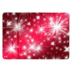 Christmas Star Advent Background Samsung Galaxy Tab 8 9  P7300 Flip Case by Celenk