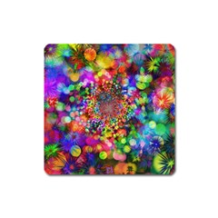 Background Color Pattern Structure Square Magnet