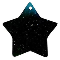 Galaxy Space Universe Astronautics Star Ornament (two Sides) by Celenk