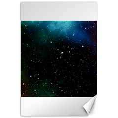 Galaxy Space Universe Astronautics Canvas 24  X 36  by Celenk