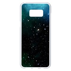 Galaxy Space Universe Astronautics Samsung Galaxy S8 Plus White Seamless Case by Celenk