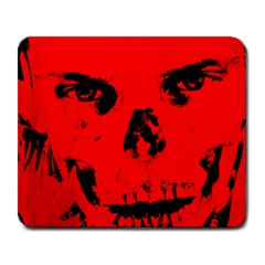 Halloween Face Horror Body Bone Large Mousepads by Celenk