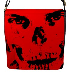Halloween Face Horror Body Bone Flap Messenger Bag (s) by Celenk