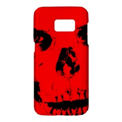Halloween Face Horror Body Bone Samsung Galaxy S7 Hardshell Case  by Celenk