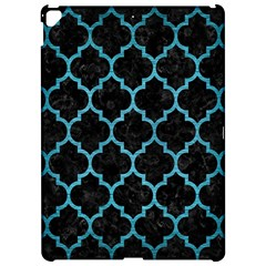 Tile1 Black Marble & Teal Brushed Metal (r) Apple Ipad Pro 12 9   Hardshell Case by trendistuff