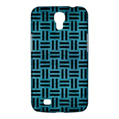 Woven1 Black Marble & Teal Brushed Metal Samsung Galaxy Mega 6 3  I9200 Hardshell Case by trendistuff