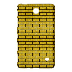 Brick1 Black Marble & Yellow Denim Samsung Galaxy Tab 4 (7 ) Hardshell Case  by trendistuff