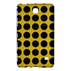 Circles1 Black Marble & Yellow Denim Samsung Galaxy Tab 4 (7 ) Hardshell Case  by trendistuff