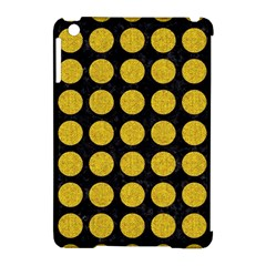 Circles1 Black Marble & Yellow Denim (r) Apple Ipad Mini Hardshell Case (compatible With Smart Cover) by trendistuff