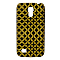 Circles3 Black Marble & Yellow Denim (r) Galaxy S4 Mini by trendistuff
