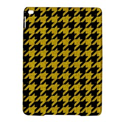 Houndstooth1 Black Marble & Yellow Denim Ipad Air 2 Hardshell Cases by trendistuff