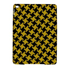 Houndstooth2 Black Marble & Yellow Denim Ipad Air 2 Hardshell Cases by trendistuff