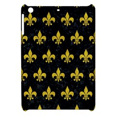 Royal1 Black Marble & Yellow Denim Apple Ipad Mini Hardshell Case by trendistuff