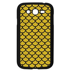 Scales1 Black Marble & Yellow Denim Samsung Galaxy Grand Duos I9082 Case (black) by trendistuff