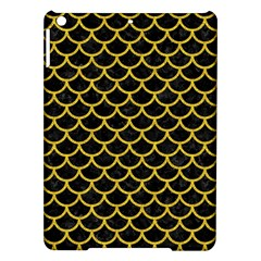 Scales1 Black Marble & Yellow Denim (r) Ipad Air Hardshell Cases by trendistuff