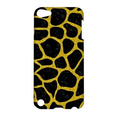 Skin1 Black Marble & Yellow Denim Apple Ipod Touch 5 Hardshell Case by trendistuff