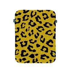 Skin5 Black Marble & Yellow Denim (r) Apple Ipad 2/3/4 Protective Soft Cases by trendistuff
