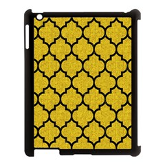 Tile1 Black Marble & Yellow Denim Apple Ipad 3/4 Case (black) by trendistuff