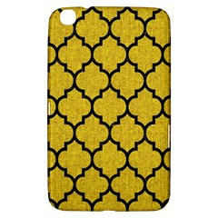 Tile1 Black Marble & Yellow Denim Samsung Galaxy Tab 3 (8 ) T3100 Hardshell Case  by trendistuff