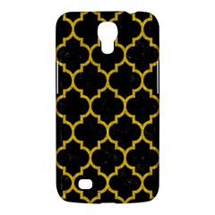 Tile1 Black Marble & Yellow Denim (r) Samsung Galaxy Mega 6 3  I9200 Hardshell Case by trendistuff