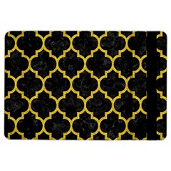 Tile1 Black Marble & Yellow Denim (r) Ipad Air 2 Flip by trendistuff