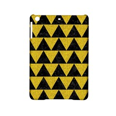 Triangle2 Black Marble & Yellow Denim Ipad Mini 2 Hardshell Cases by trendistuff