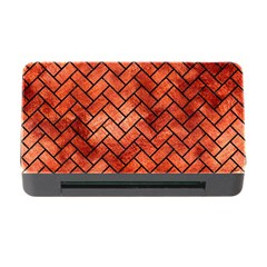 Brick2 Black Marble & Copper Paint Memory Card Reader With Cf by trendistuff
