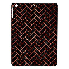 Brick2 Black Marble & Copper Paint (r) Ipad Air Hardshell Cases by trendistuff
