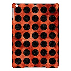 Circles1 Black Marble & Copper Paint Ipad Air Hardshell Cases by trendistuff