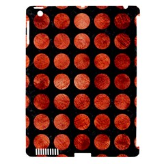 Circles1 Black Marble & Copper Paint (r) Apple Ipad 3/4 Hardshell Case (compatible With Smart Cover) by trendistuff