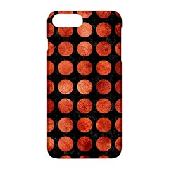 Circles1 Black Marble & Copper Paint (r) Apple Iphone 8 Plus Hardshell Case by trendistuff