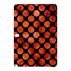 Circles2 Black Marble & Copper Paint (r) Samsung Galaxy Tab Pro 12 2 Hardshell Case by trendistuff