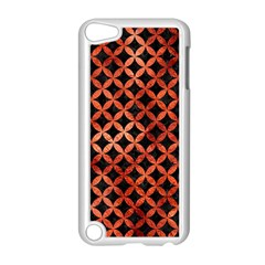 Circles3 Black Marble & Copper Paint (r) Apple Ipod Touch 5 Case (white) by trendistuff