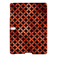 Circles3 Black Marble & Copper Paint (r) Samsung Galaxy Tab S (10 5 ) Hardshell Case  by trendistuff