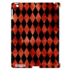 Diamond1 Black Marble & Copper Paint Apple Ipad 3/4 Hardshell Case (compatible With Smart Cover) by trendistuff