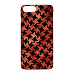 Houndstooth2 Black Marble & Copper Paint Apple Iphone 8 Plus Hardshell Case by trendistuff