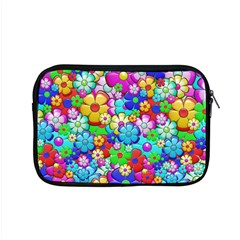 Flowers Ornament Decoration Apple Macbook Pro 15  Zipper Case by Celenk