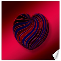 Heart Love Luck Abstract Canvas 20  X 20