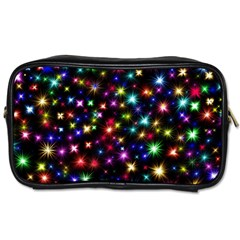 Fireworks Rocket New Year S Day Toiletries Bags 2 Side by Celenk
